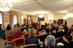 Applausi al premiato Miljenko Jergović