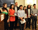 I giovani premiati al My Trieste