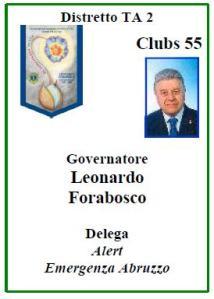 Governatore Distretto Ta2