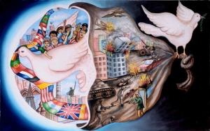 Un poster per la pace_vincitrice anno precedente